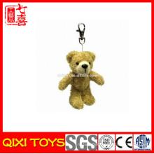 Mini diamond teddy bear plush keychain ,mini teddy bear hangings