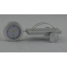 Алюминиевый рабочий стол подарок часы (DZ38)