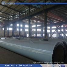 Tubo de acero soldado de suministro de agua (USB-2-004)