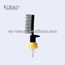 PP plastic white foam pump 30/410 with comb
