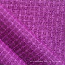 Waterproof Triple-Lined Ripstop Diamond Oxford Nylon Fabric with PU