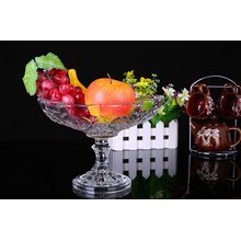 Haonai unique design glass bowl ice cream bowl with stem wholesales
