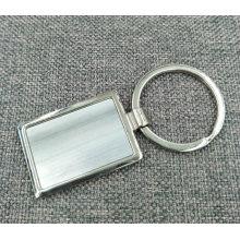 Atacado promocional personalizado em branco chaveiro chaveiro