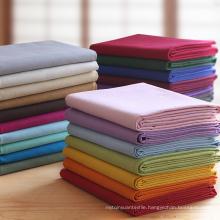 Hot Seller 100% Cotton Poplin Wholesale Woven Garment Shirt Fabric
