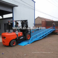 Alibaba hochwertige hochwertige bewegliche Dock Rampe in China hergestellt