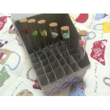 1,5 мл ясно трубчатого стеклянная бутылка для парфюмерии образцов пакет