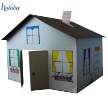 Customized Cardboard Folding Indoor Playhouse