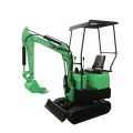 Mini Excavator 08 Portable Auger Earth Machine 0,8 Ton Crawler 3 And For Sale China Digger