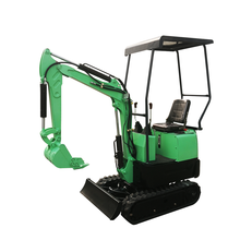 Mini graafmachine 08 draagbare Auger Earth Machine 0,8 Ton Crawler 3 en te koop China Digger