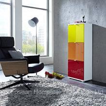 Gabinete de armazenamento de sapato misturado com cores (HF-EY08198)