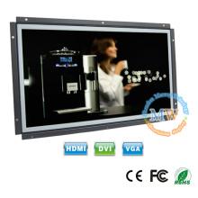 Moniteur LCD à cadre ouvert 1920X1080 haute résolution 15,6 écran avec entrée 12v DC