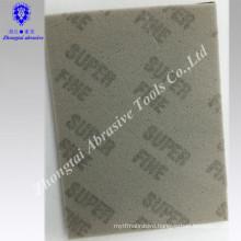 Factory supply Microfine foam Sanding sponge for machine using