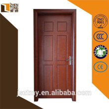 Environment friendly customized modern solid doors wood price