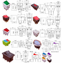 All Kinds of Boat Rocker Switch