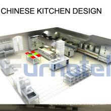 Shinelong Customized Project Chinese Kitchen Design