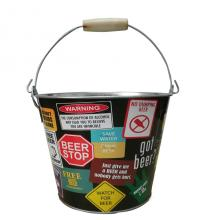 5QT Ice bucket with bottle opener