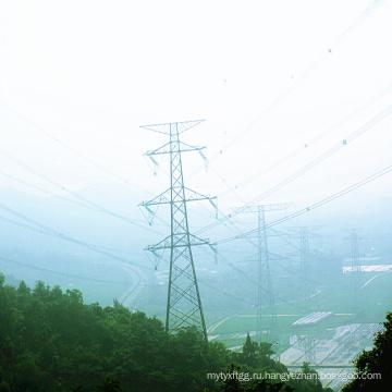 220кВ Стальная линия электропередач с двойным контуром