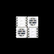 LED personalizzato 5050 smd 4chips 660nm 580nm 530nm 830nm
