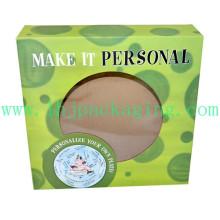 Пользовательские косметические упаковки Box печатной бумаги коробки