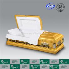 Colores de LUXES de ataúdes cama americana nueva