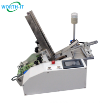 High Speed Card Friction Feeder Automatic Paging Machine Type brochures card paper friction feeder
