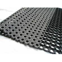 Tapis en caoutchouc de drainage anti-abrasion, tapis en caoutchouc résistant à l'huile