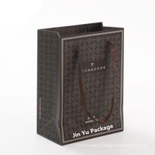 Elegant Delicate Custom Matt Paper Gift Shopping Packaging Bag