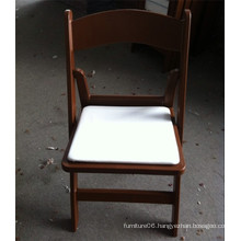 Brown Padded Garden Plastic Chair for Wedding Events