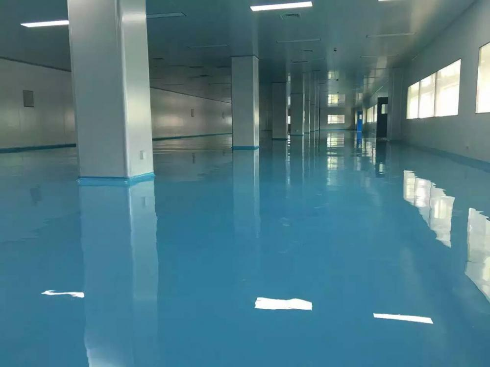 Workshop High Gloss Epoxy Self Leveling Floor