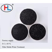 Meios filtrantes de carvão antracito para venda