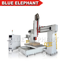 Ele1224 5 Axis CNC Router 3D Wood Engraving Machine