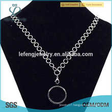 Women famale fashion thin chains necklace,silver plated necklace chains