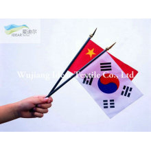 Printed Handhold Flags/Polyester Printed Banners