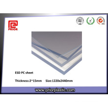 Polycarbonate Sheet ESD PC, Coated Two Sides