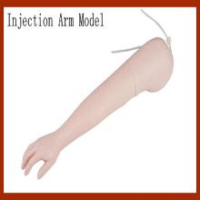 Erweitertes intravenöses injizierbares Trainingsarmmodell (rechts / links)