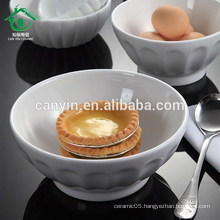 Fast Delivery Cheap Price White personalized Ceramic nesting Bowls