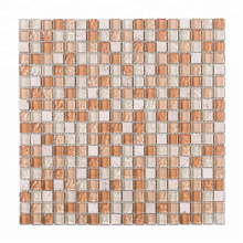Mixed Color Mosaic Tile Glass for Wall From Factory