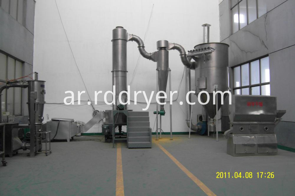 Hot Sell Low Cost Air Flash Dryer