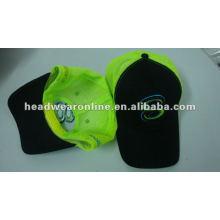 Sechs Tafeln Mesh Caps mit gestickten / whosesale Mesh Caps