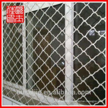 galvanized and pvc coated window protection net