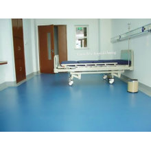 PVC do hospital e rolo de vinil para o revestimento usado interno