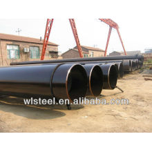 carbon steel pipe welding for low pressure liquid delivery