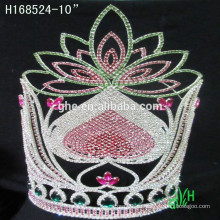 Новые конструкции Rhinestone Crown, тиара ювелирных украшений
