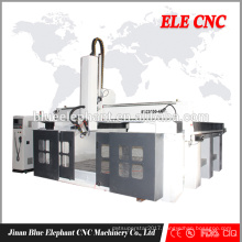 Chinaese homemade 4 axis 3d polyfoam cutting machine
