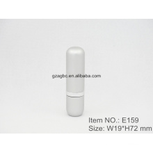 Graceful Aluminum Cylindrical Lipstick Tube Container E159, cup size12.1/12.7,Custom color