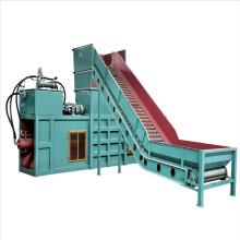 horizontal waste paper baling press machine / cardboard baler horizontal baler automatic  pet  bottle baler
