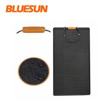 Bluesun best selling solar panels black 100w 110w 160w solar panel black 170w solar energy panel system camping