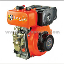 Lonfa Monocilíndrico Arranque manual 9HP / 10HP Pequeño motor diesel