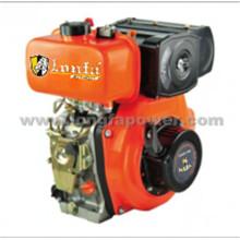 Petit moteur diesel du démarrage manuel 9HP / 10HP de cylindre simple de Lonfa