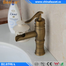 Beelee Antique Brass Single Handle Basin Faucet